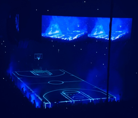 Drake Basketball Court Stage