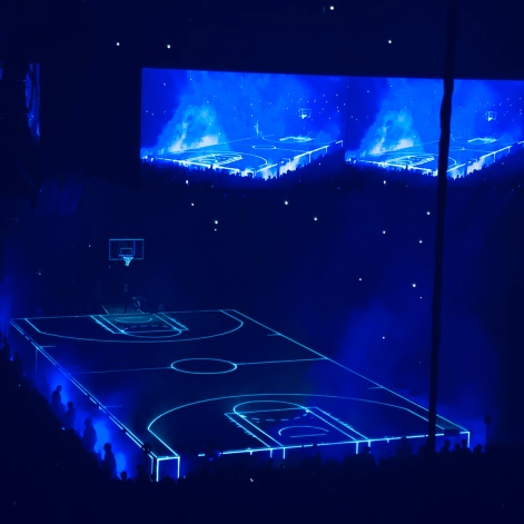 Drake Basketball Court Stage
